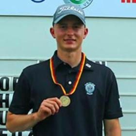 Max Brückner – 3. Platz Deutsche Meisterschaften 2019, angehender Golfprofi